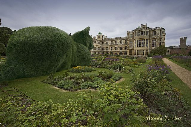 The Topiary Cat visits Audley End.