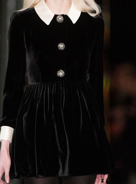 ♔ Saint Laurent at Paris fashion week fall 2014