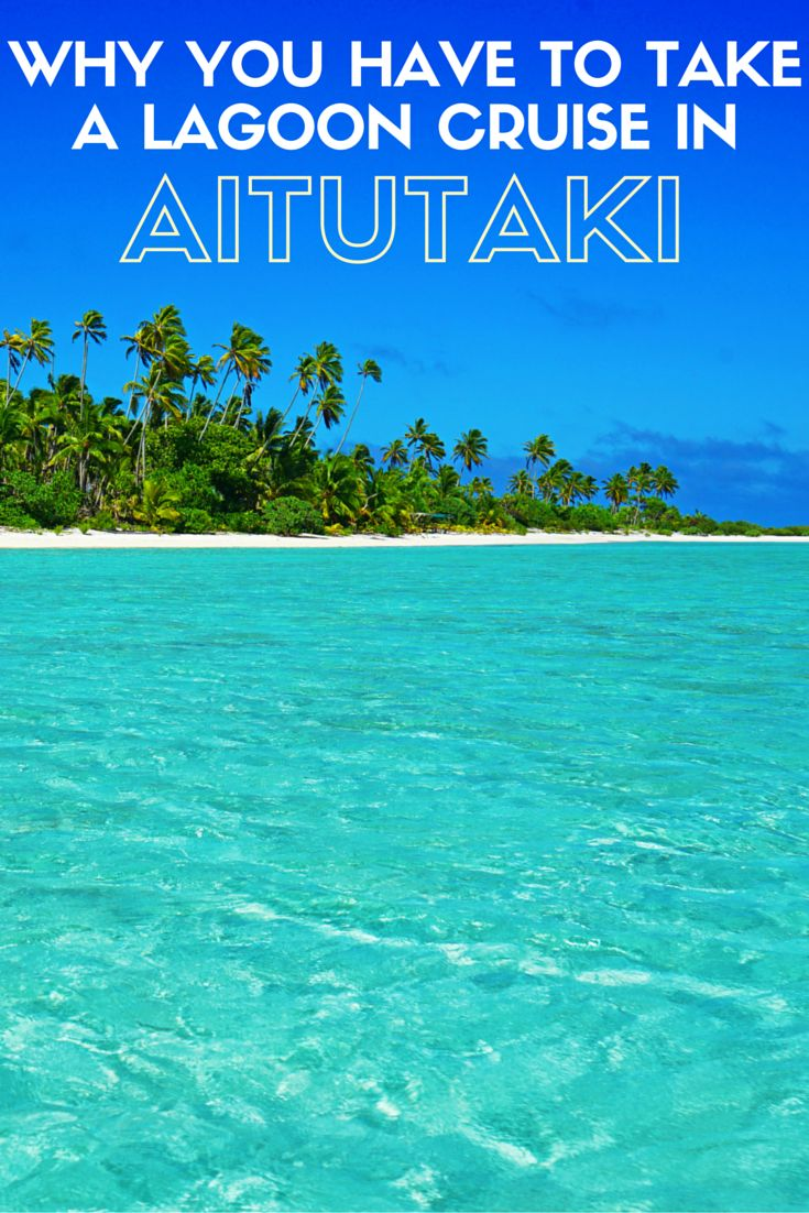 After five years of travel, my lagoon cruise in Aitutaki is one of the best things I've ever done!