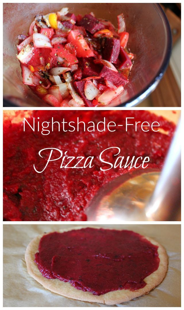 Food sensitivities? Following a grain-free diet? Try this nightshade-free marinara sauce with grain-free sourdough pizza crust! #paleo #GAPS