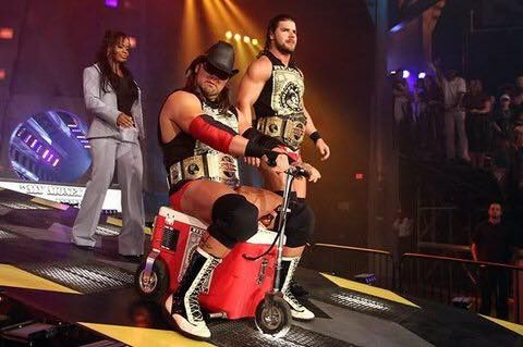 Bobby Roode and James Storm