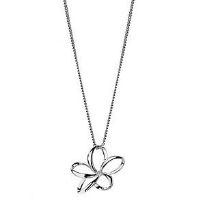 Hot Diamonds open flower pendant