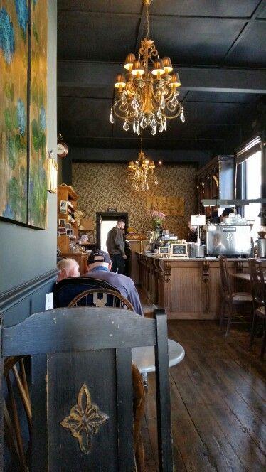 Cafe Beaumarchais @ Mt Dandenong, Melbourne. So cozy!