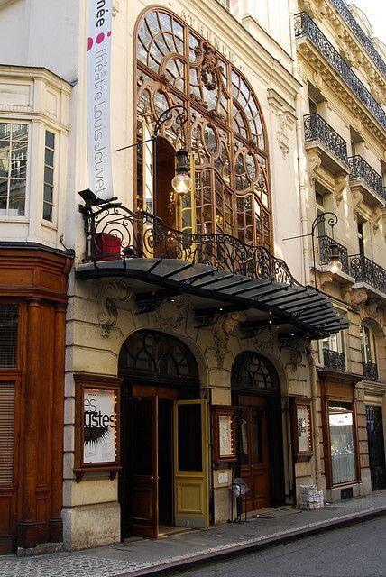 lilyadoreparis: Théatre de L'Athenée, Paris, Art Nouveau