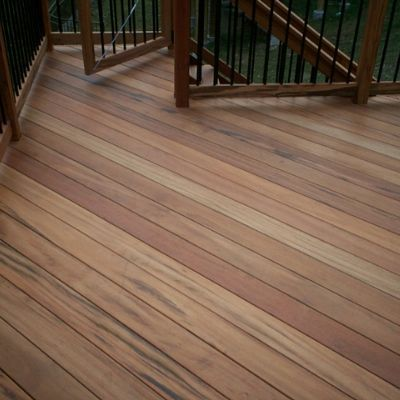 Hardwood decking falls into the category of 'tropical' or 'exotic' imported wood.  Ipe, Tigerwood, mahogany, and teak are just a few of the better known hardwoods used by Archadeck for building outdoor structures such as decks.  Hardwoods have a sleek surface, are color-rich and elegant in appearance; they're also characterized by exceptional strength and durability.