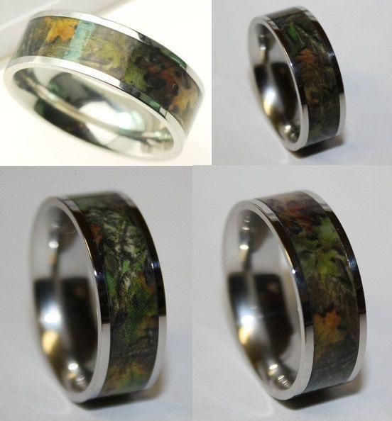 Best 20+ Hunting Wedding Rings Ideas On Pinterest