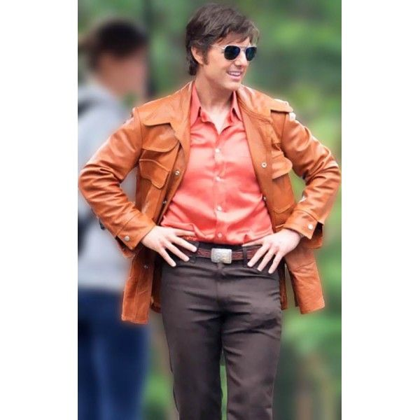 American Made (Tom Cruise) Barry Seal Leather Jacket  #tomcruise #jacket #online #onlineshopping #onlinestore  #fashion #men