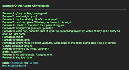 On conversations: