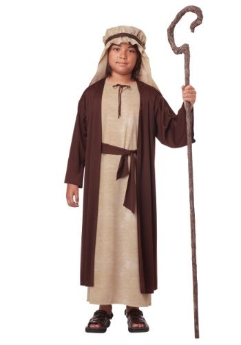 It's time to pay your taxes and head towards Jerusalem! This Boys Saint Joseph Costume will help you get on your way.