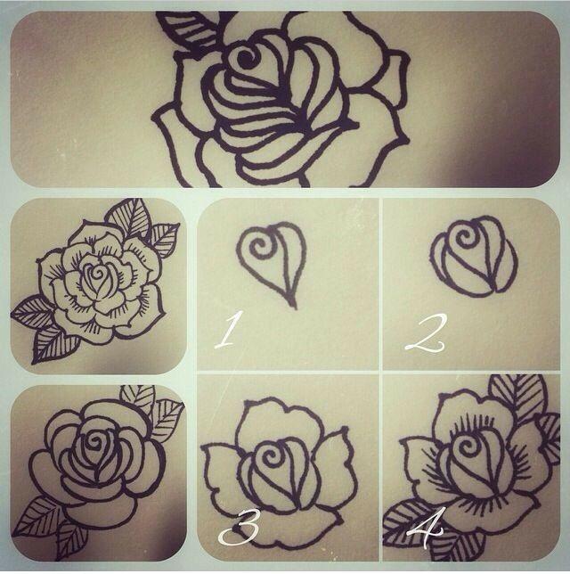 Zoey Tattoo Ideas: Tatouage Henné, Henné Moderne