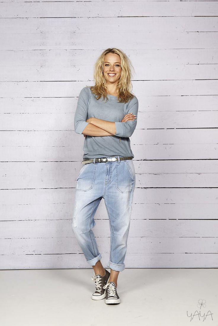 Classic Style - converse, faded baggy jeans, long sleeve or T YAYA SS'14 BEACH COMBER COLLECTION