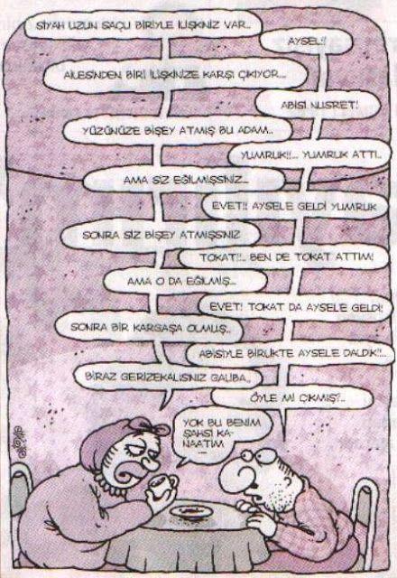 Falcı Karikatürleri - Yiğit Özgür