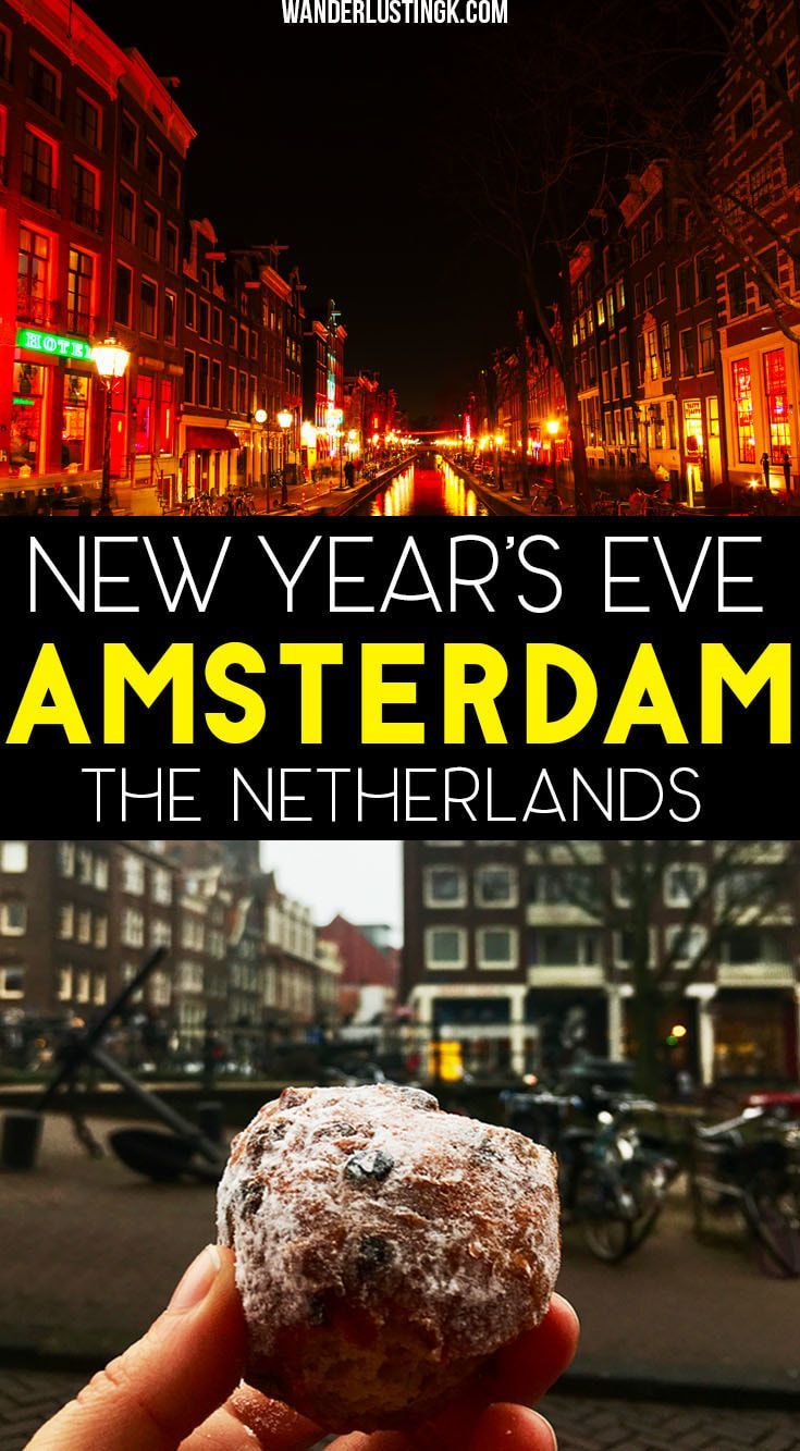 Celebrate New Year's Eve in Europe! Read insider tips for the best New Year's Eve in Amsterdam, including the best parties. #NewYearsEve #NYE #Europe