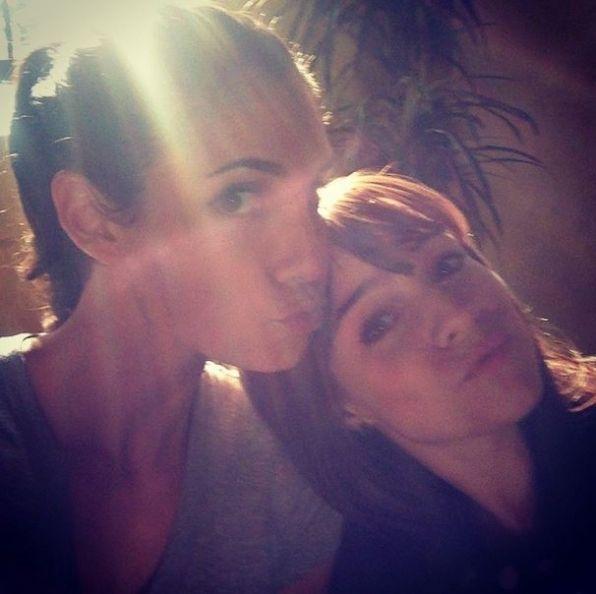 NCIS: Los Angeles Season 6 Behind The Scenes Renée Felice Smith and Daniela Ruah #NCISLA