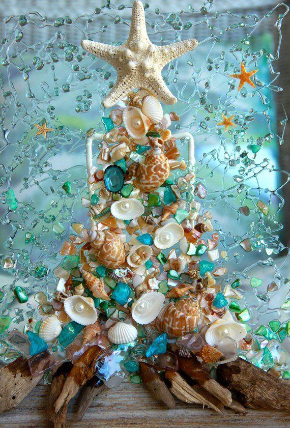 Beach Christmas Decoration Coastal Christmas Decor Etsy With