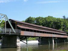 Harpersfield Covered Bridge,Ashtabula County, Ohio