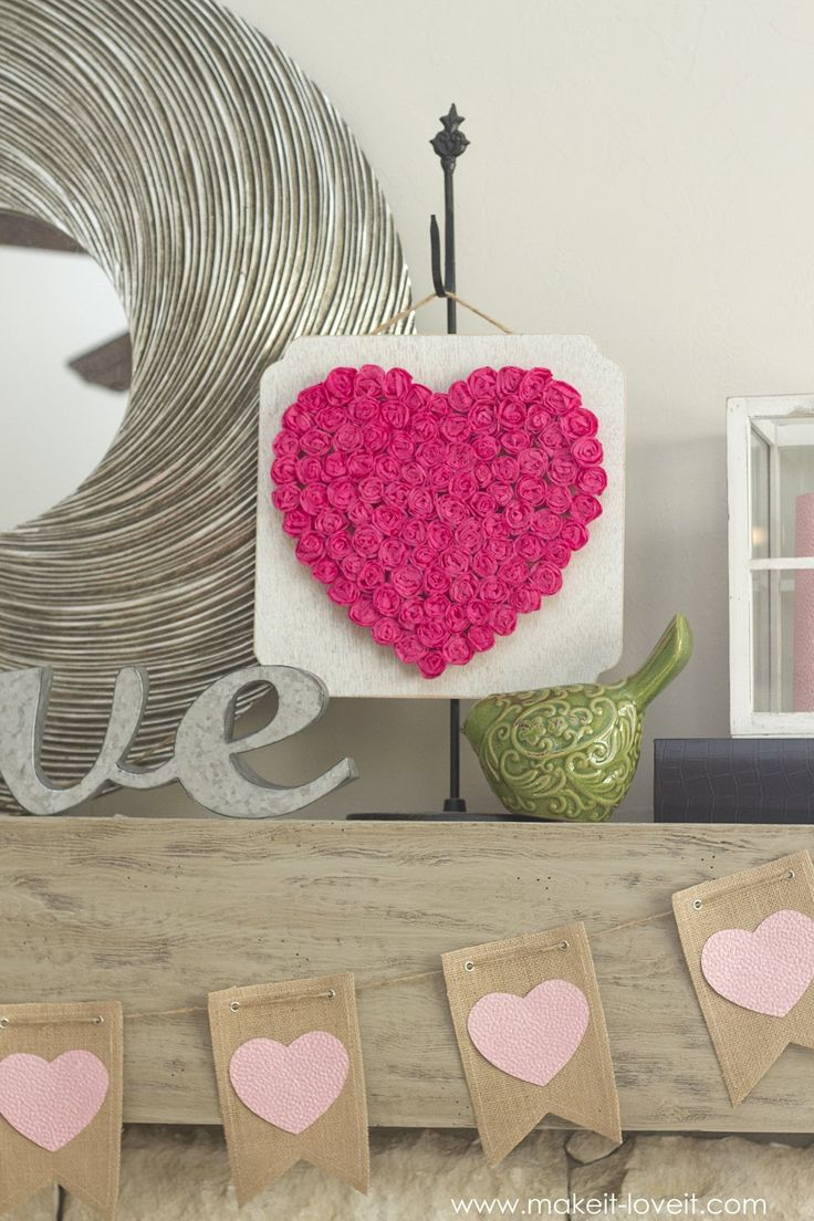 Paper Valentine Crafts