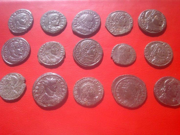 ROMAN COINS LOT 15.psc