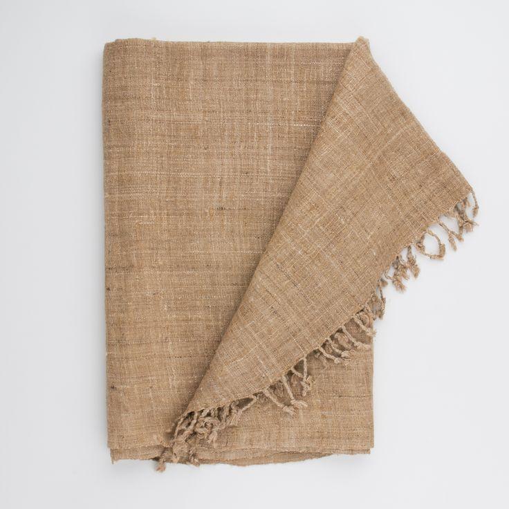 monsoon - wild silk throw
