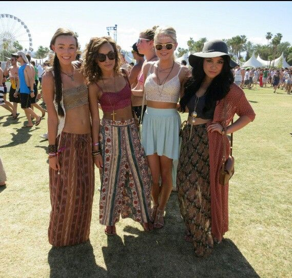 Coachella Outfits Cute Clothes Pinterest Skirts