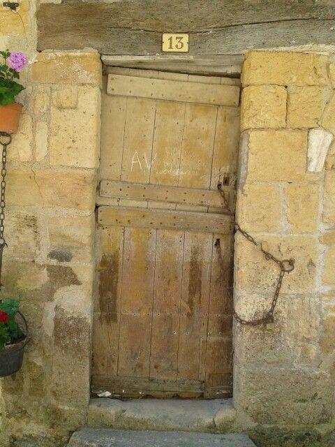 Ancient door in France
