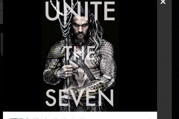 """""""Batman v. Superman"""": director reveló imagen de Aquaman. Foto: Twitter"""