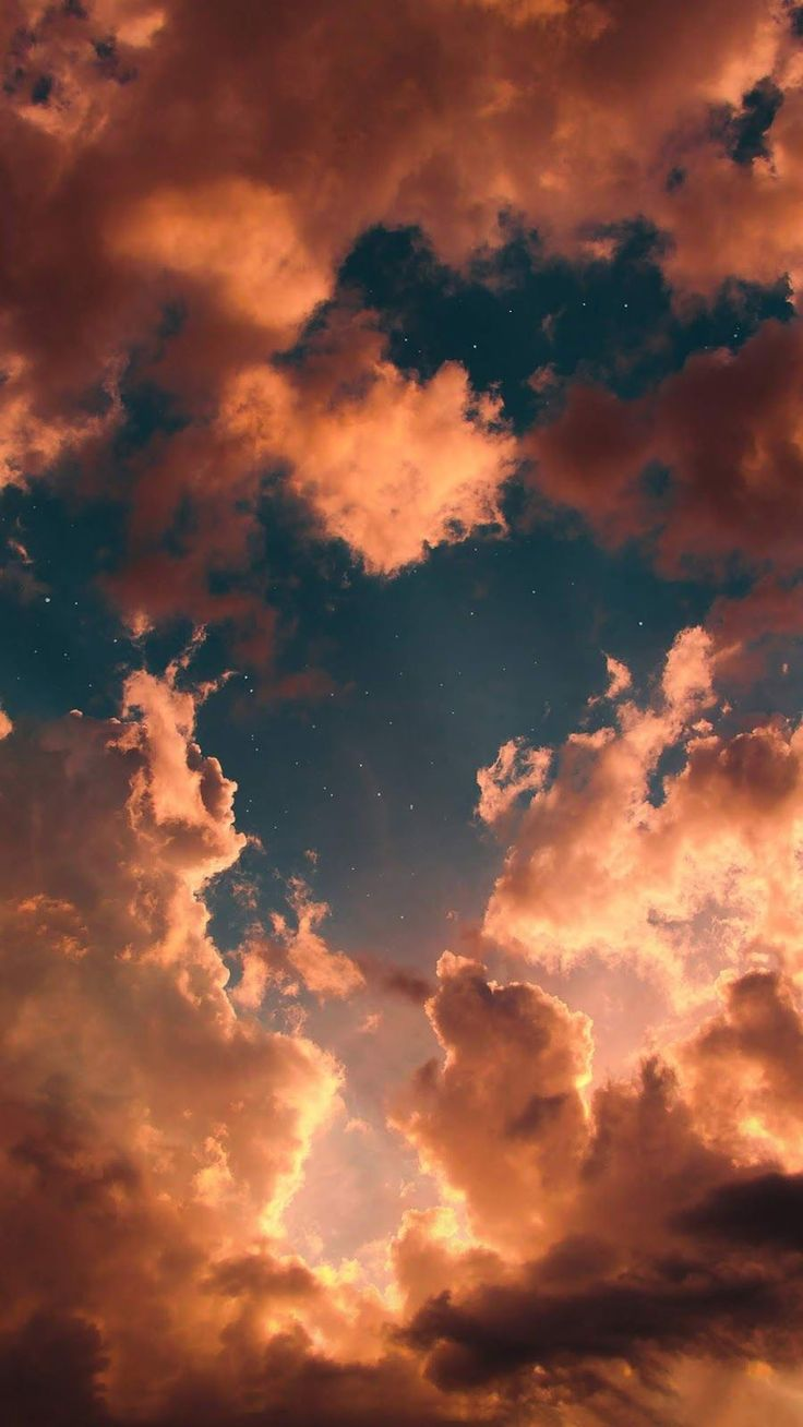 Sky in the sunset #wallpaperiphone Sky in the sunset #wallpaper #iphone #android #background #followme