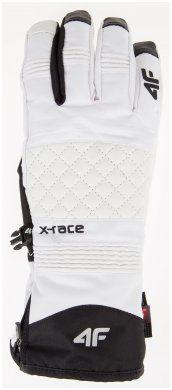 Rękawice narciarskie damskie RED101 - biały