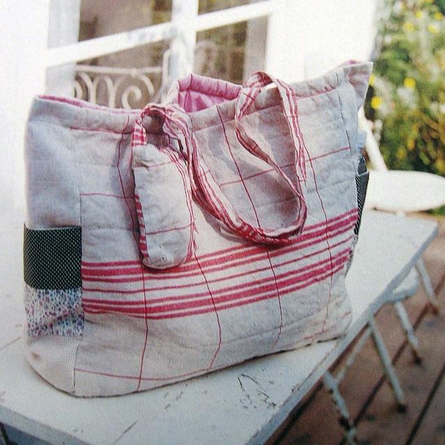 handmade zakka for baby  baby bags, such a good idea