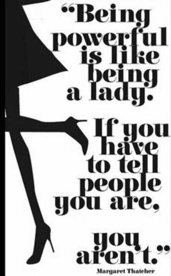 Who's a Lady