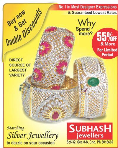 Special New #Offer on #silvar jewellery For Raksha Bandhan #subhashjewllerschandigarh Scf 32, sector 8.b, (inner market) chandigarh, india Ph-9815496688
