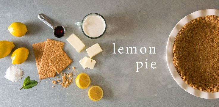 Lemon Pie Recipe | At Home: A Blog by Joanna Gaines