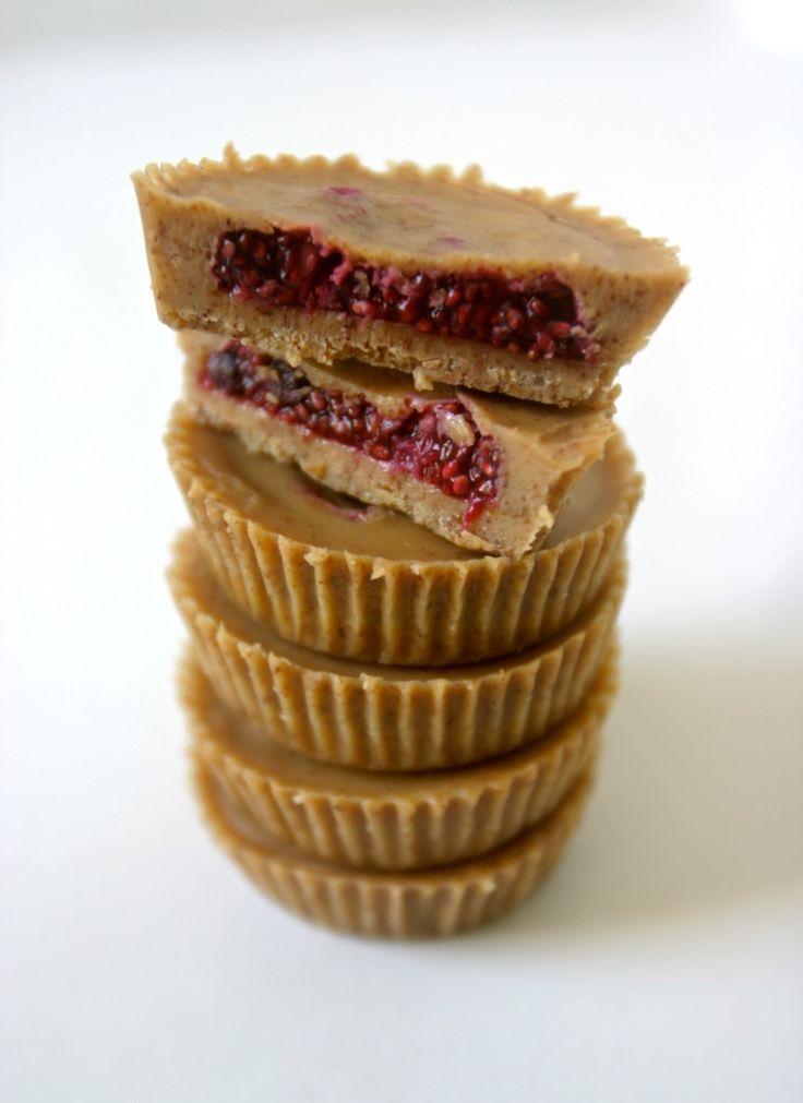 almond butter and jelly cups! via - primalbitesblog.com