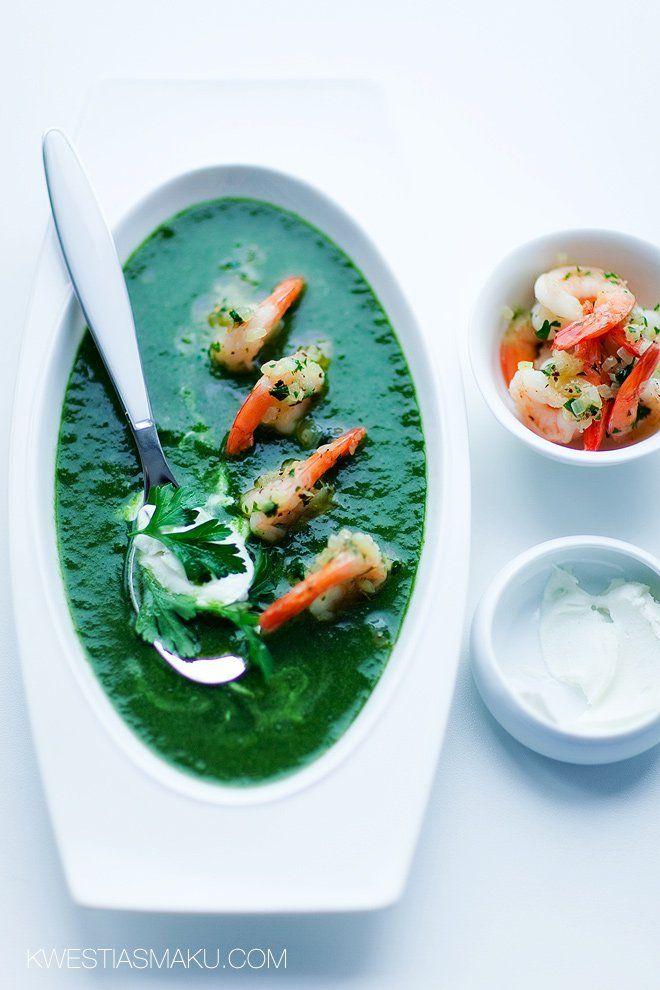 Zupa krem ze szpinaku i ziemniaków. Najlepszy przepis na zupę szpinakową