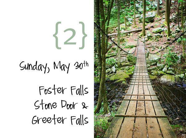 I love bridgesFun Trail, Mountain Getaways, Southern Travel, Mountain Hideaway, Foster Fall, Cades Cove, Tennessee Mountain, Bridges Bridges Bridges, Swings Bridges