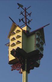 several good free purple martin house plans
