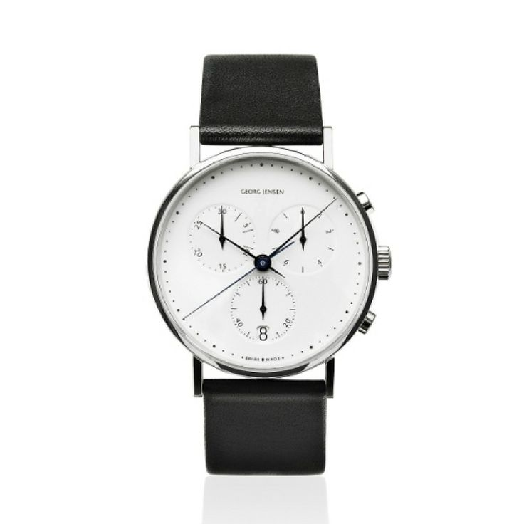 KOPPEL CHRONOGRAPH BY GEORG JENSEN - WHITE DIAL/38MM - SAVE £171! #watches #ladies #gifts