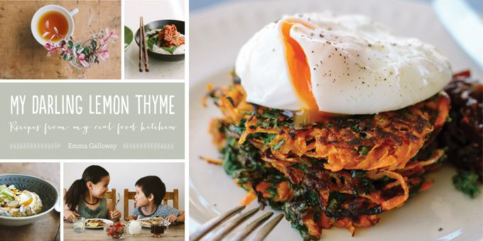 """Kumera + Kale Latkes w/ Poached Eggs We had Emma Galloway share this amazing recipe from her book """"My Darling Lemon Thyme"""". To learn more about Emma click here. Ingredients 600 g kumera (sweet potato),…"""