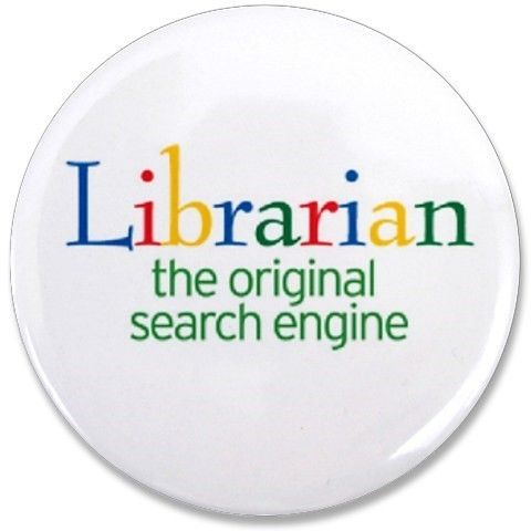 Librarian, the original search engine funny Google