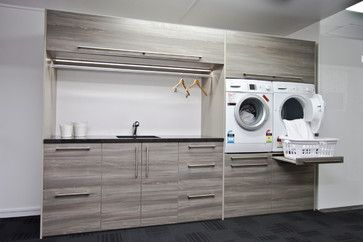 Ezy Kitchens showroom Invercargill - contemporary - laundry room - other metro - Hamish Ballantyne
