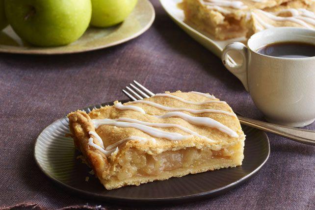 Barres tarte aux pommes