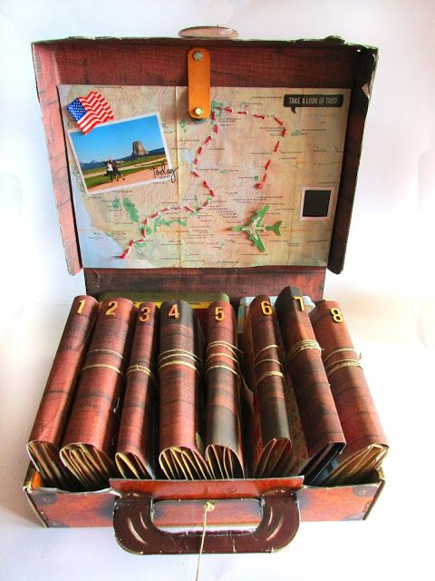 Lydille: La valise souvenirs : Road Book USA 2015