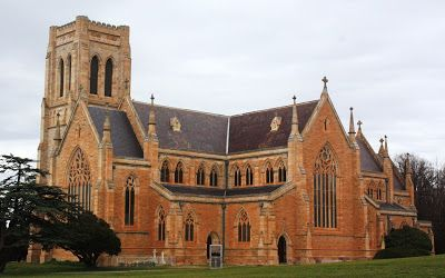 St Saviour's Cathedral, Goulburn NSW, 1874,  is an English Decorated Gothic, by Edmund Thomas Blacket and constructed of sandstone.