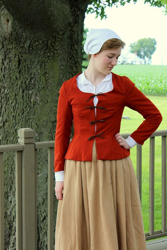 Pilgrim Costume 1600s Jacobean Renaissance Faire by ModeDeLis, $60.00 (This is how REAL Plimoth Colony Pilgrims dressed!)