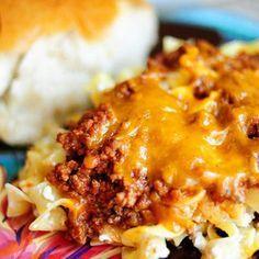 First Ladies / Hamburger-Noodle Casserole