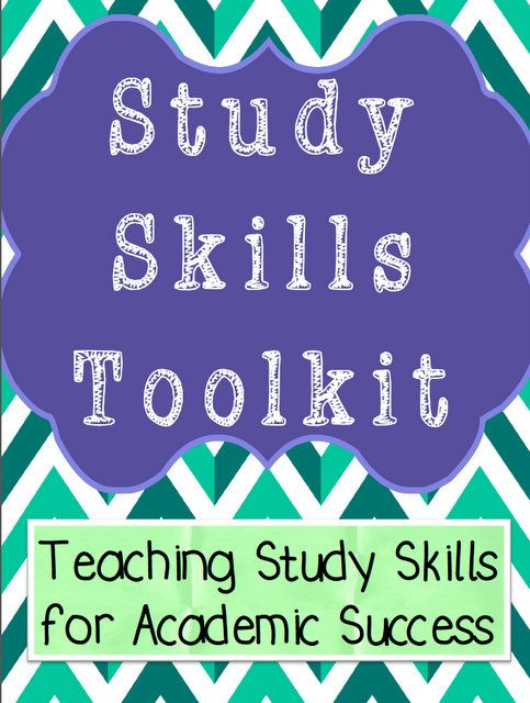 This is a study skills toolkit with over 30 pages of student worksheets, guides, and templates teaching critical study skills necessary for academic success.