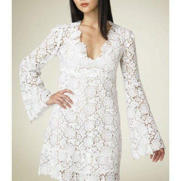 Dantelli Elbise Modelleri 2015