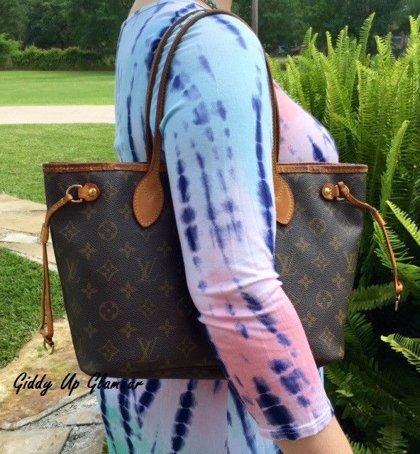 735e4325ded7 Authentic Used Louis Vuitton Neverfull PM in Monogram