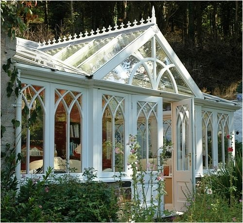 Gothic conservatory conservatories greenhouses pinterest for Conservatories and garden rooms