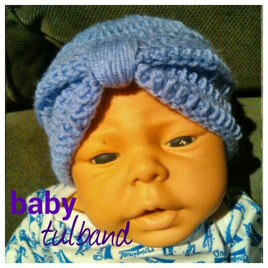 Baby tulband 0-3 maanden